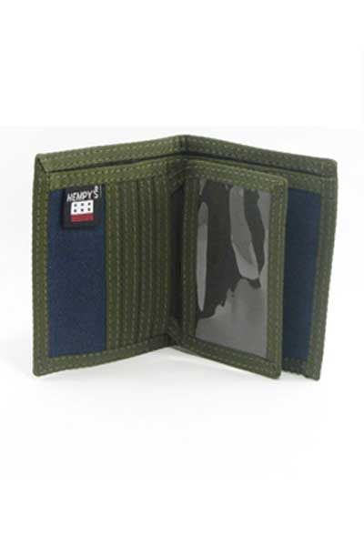 Hemp Wallet Bi-fold - Slim Line - Natural Clothing Company