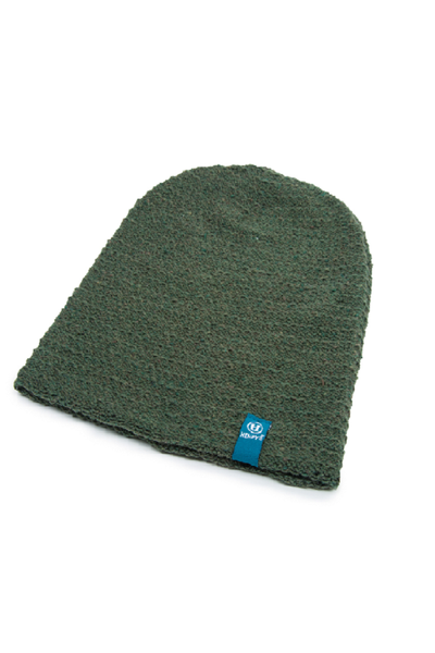 Eco Yarn and Hemp Blend Beanie - Flatline - Natural Clothing Company