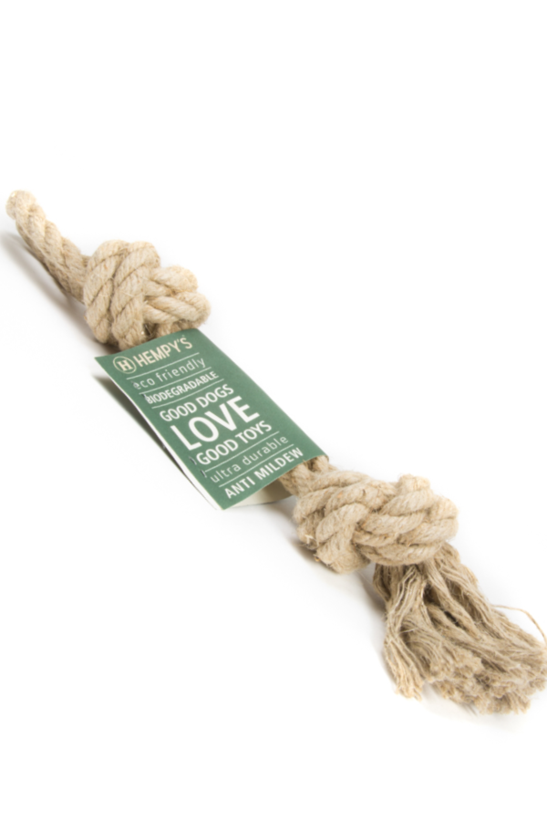 Hemp Rope - Dog Chew Toy - Natural Clothing Company