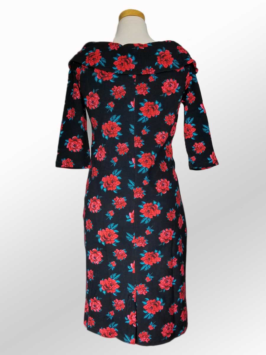 Organic Cotton Dress - Roses