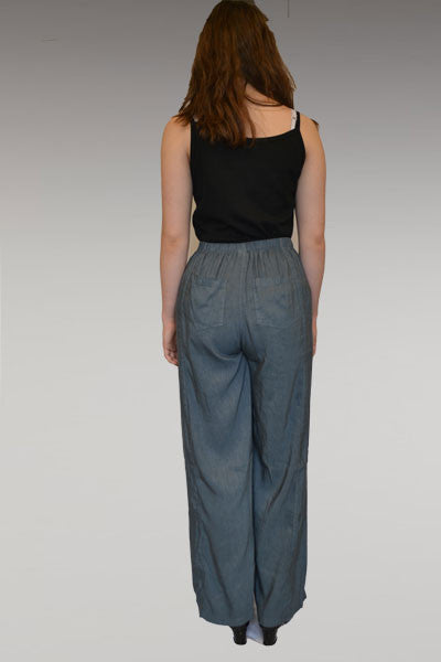 Linen Drawstring Pants - Natural Clothing Company
