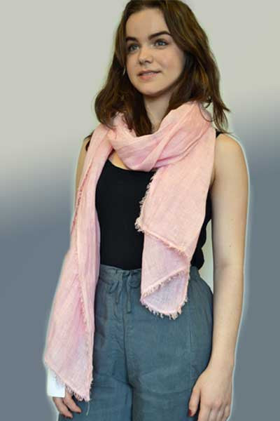 Linen Scarf - Natural Clothing Company