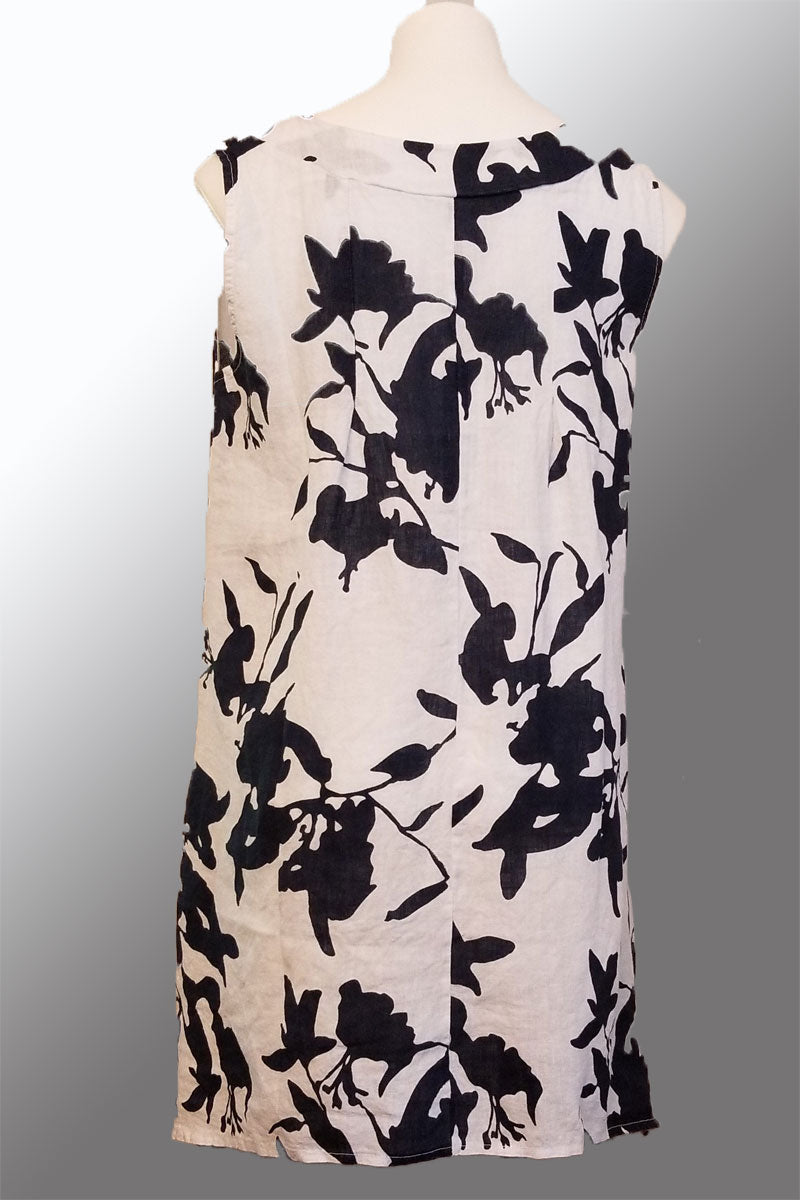 Floral Dress Tunic - Luca Vanucci