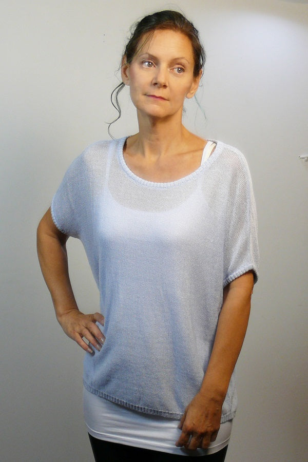 Linen  and Organic Cotton Knit - Dolman - Natural Clothing Company