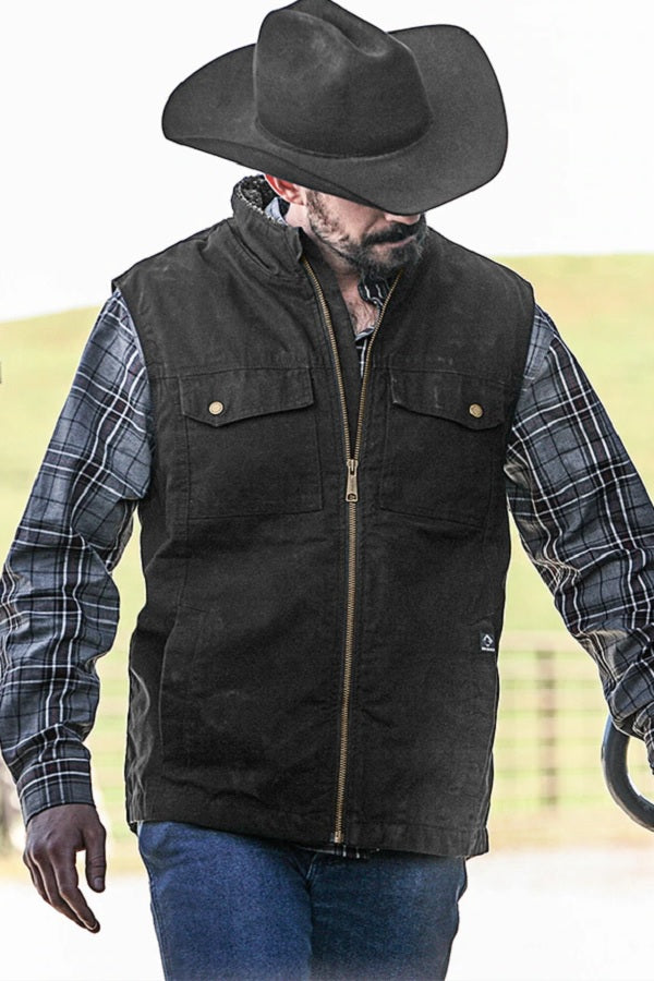 Men's Canvas Vest - Trek