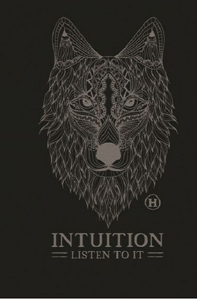 Hemp Blend T-shirt - Wolf, Intuition - Natural Clothing Company