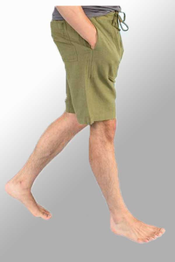 Men's Hemp Drawstring Shorts - Natural Clothing Company