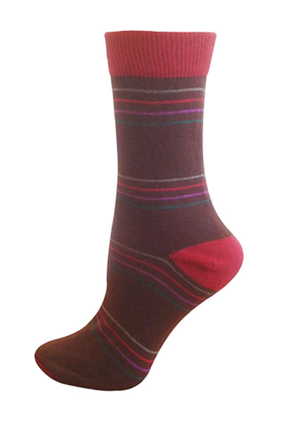 Men's Organic Cotton Crew Socks - Bertha - Natural Clothing Company