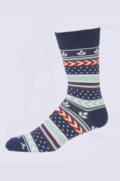 Men's Multi Harvest Crew Sock - Natural Clothing Company