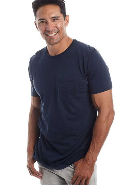 Men's Organic Cotton T-shirt - Crew Neck