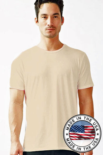 d80d699057d4 ... Men's Organic Crew Undershirt / Tee - Natural Clothing Company ...