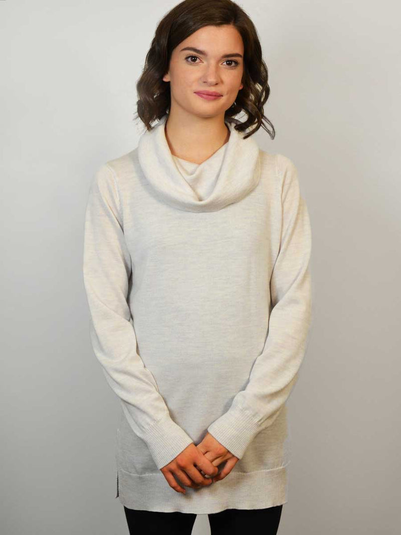 Merino Cowl Sweater Tunic