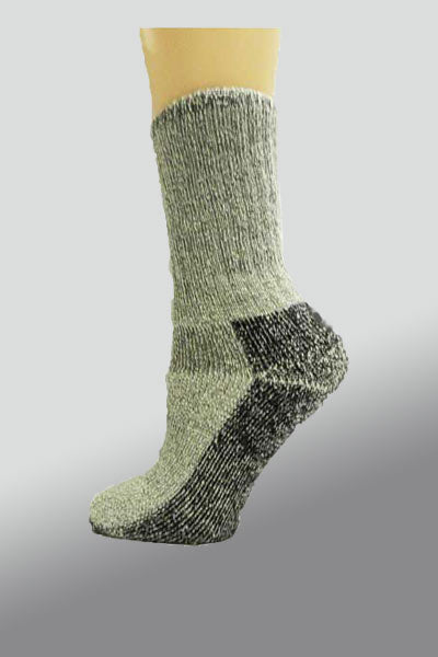 Organic Wool Socks - crew height - Natural Clothing Company
