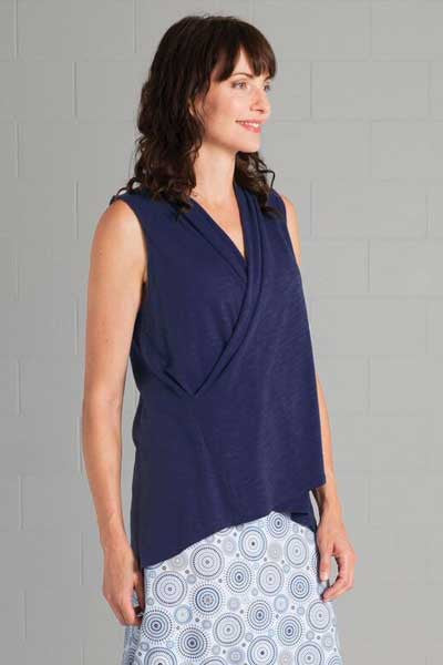 Organic Cotton and Bamboo Vest Top - Ariel