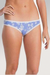 Organic Cotton Bikini - Chambray Floral - Natural Clothing Company