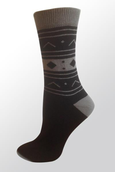 Organic Cotton Crew Socks - Sedna - Natural Clothing Company