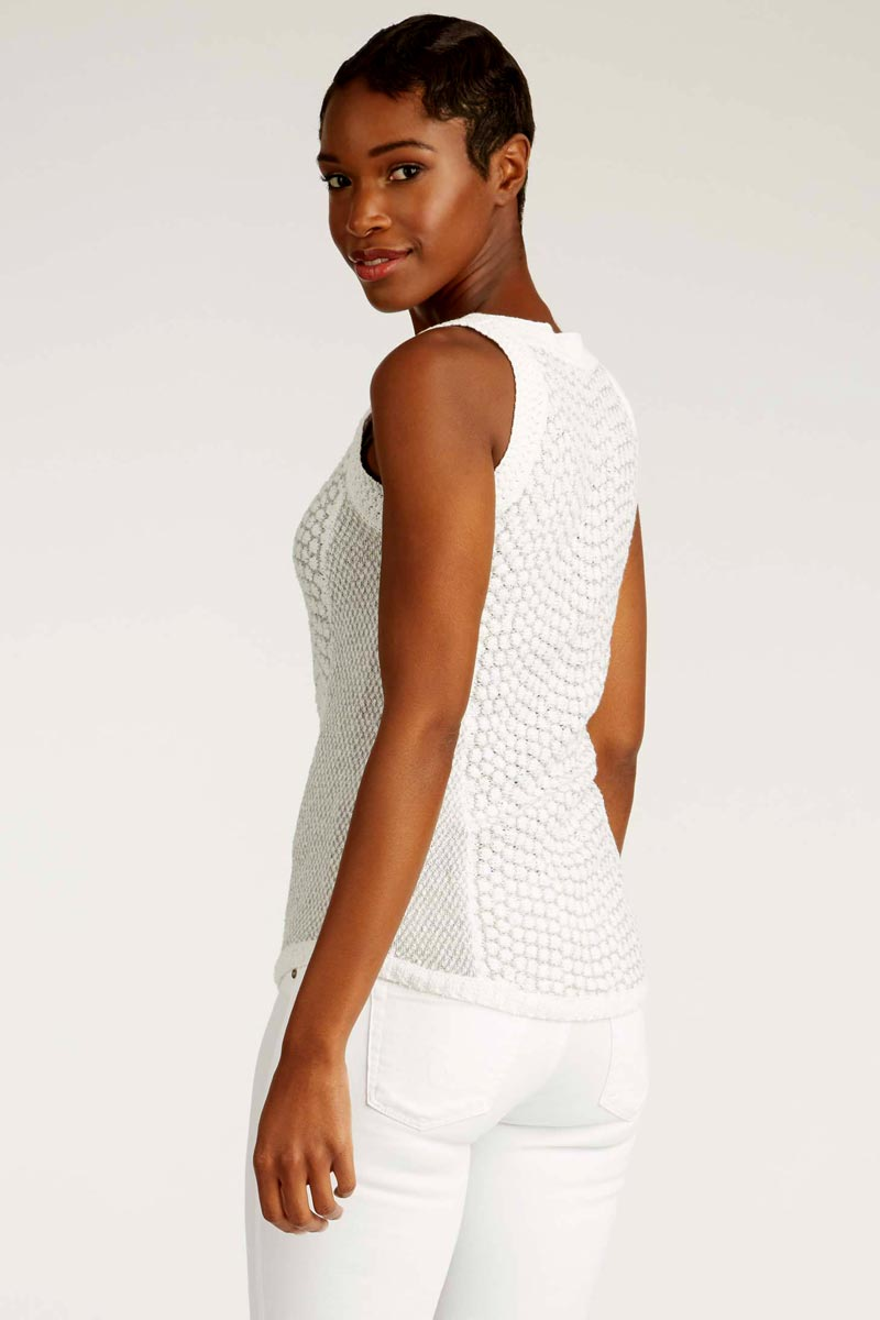 Organic Cotton Crochet Top - Natural Clothing Company