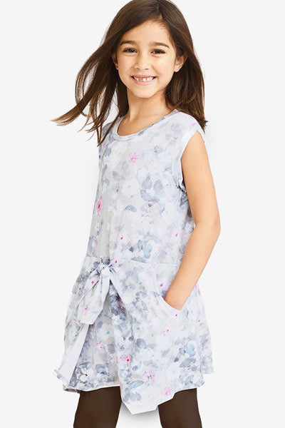 Organic cotton dress - Penelope, girls 3T to 5T - Natural Clothing Company