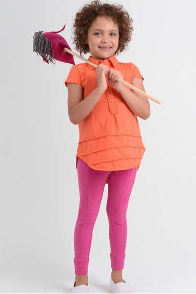 Organic Cotton Leggings Lola - kids 3 to 5 y.o. - Natural Clothing Company