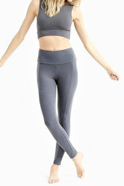 Organic Cotton Leggings - High Waisted - Natural Clothing Company