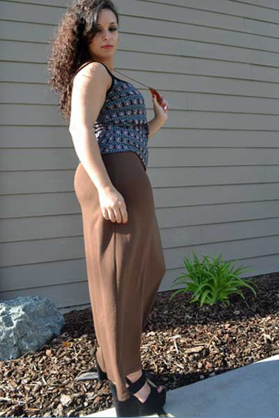 Organic Cotton Maxi Skirt