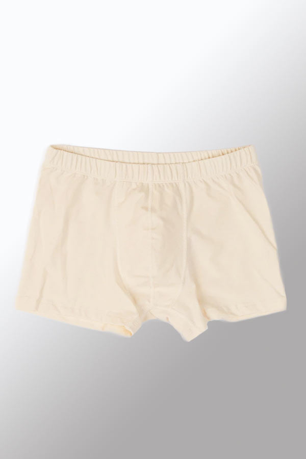 Men's Organic Cotton Trunks with Covered Elastic