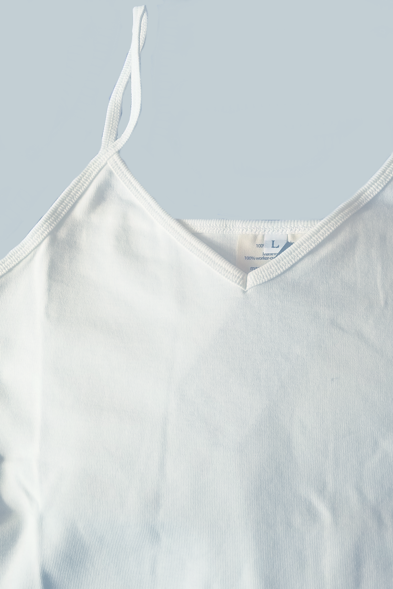 Organic Cotton Camisole - Natural Clothing Company