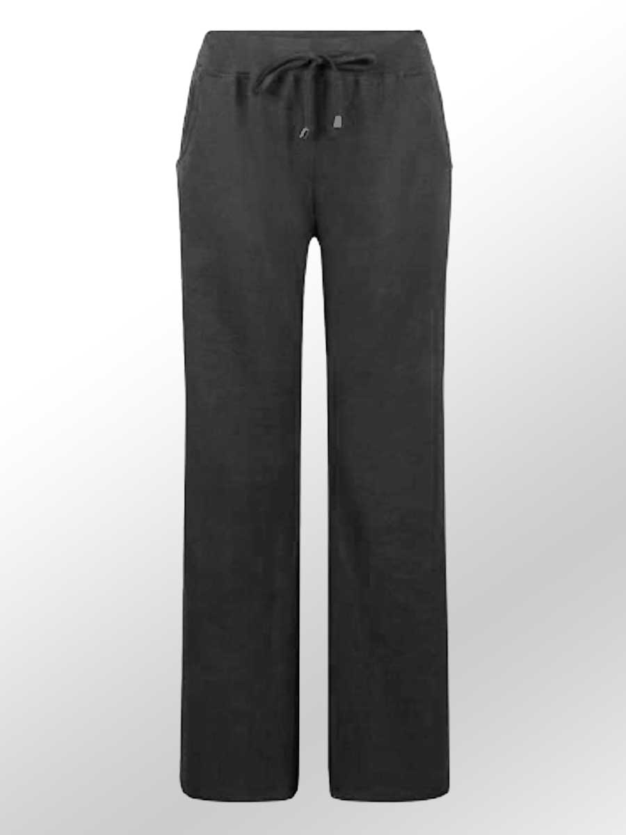 Organic Cotton Pants - black
