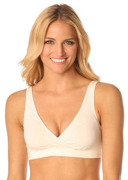 Organic Cotton Sports Bra - Solid