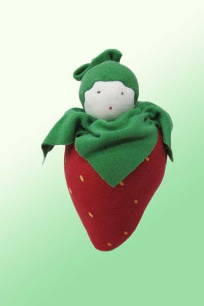 Organic Cotton Toy - Fruits and Veggies - Natural Clothing Company