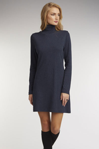 Organic Cotton Turtle Neck Dress - Natural Clothing Company