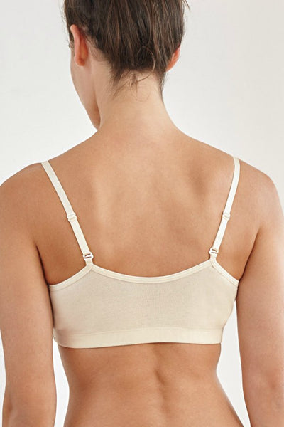 Softly Padded Bra - organic cotton