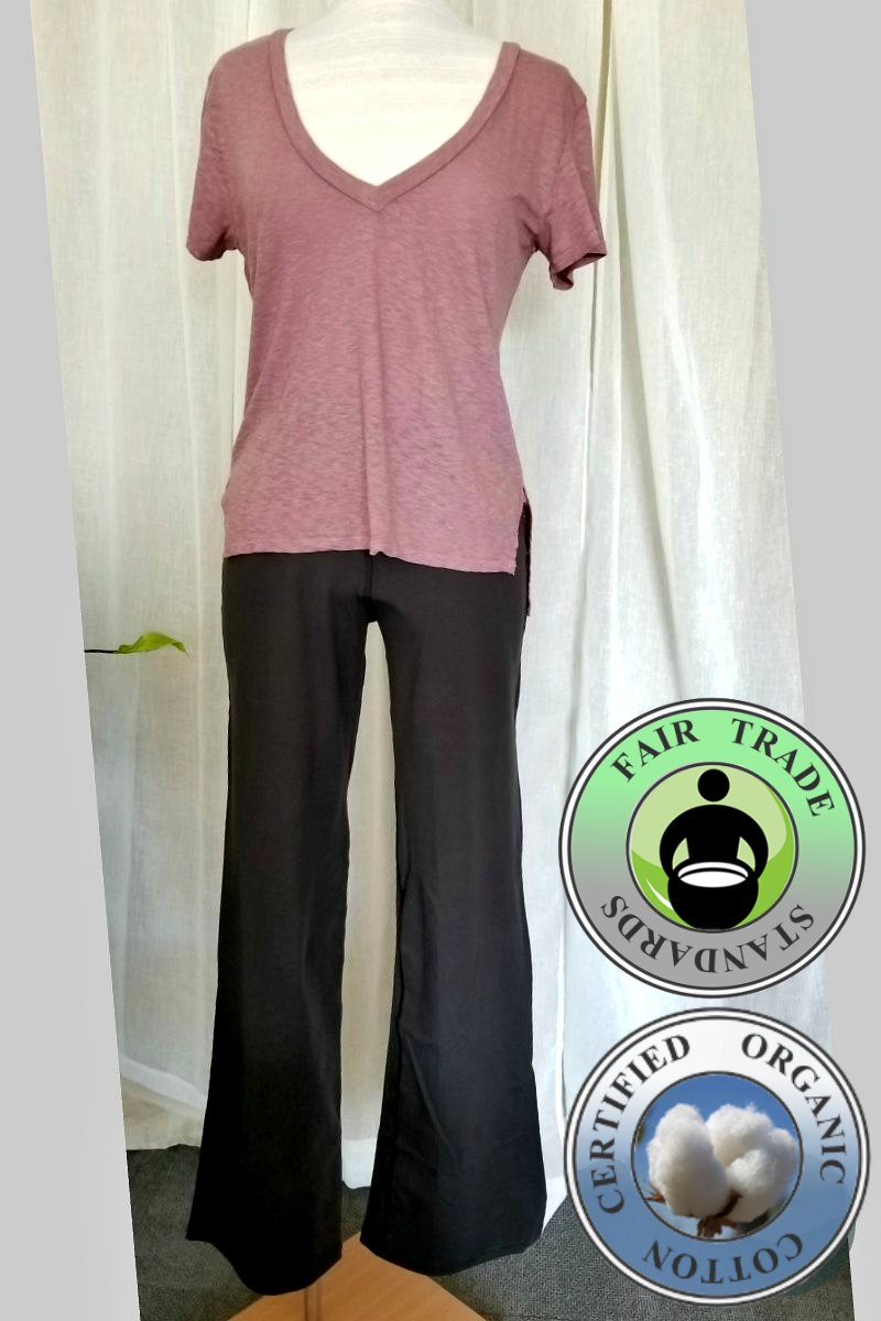 Casual Organic Cotton Pants - Natural Clothing Company