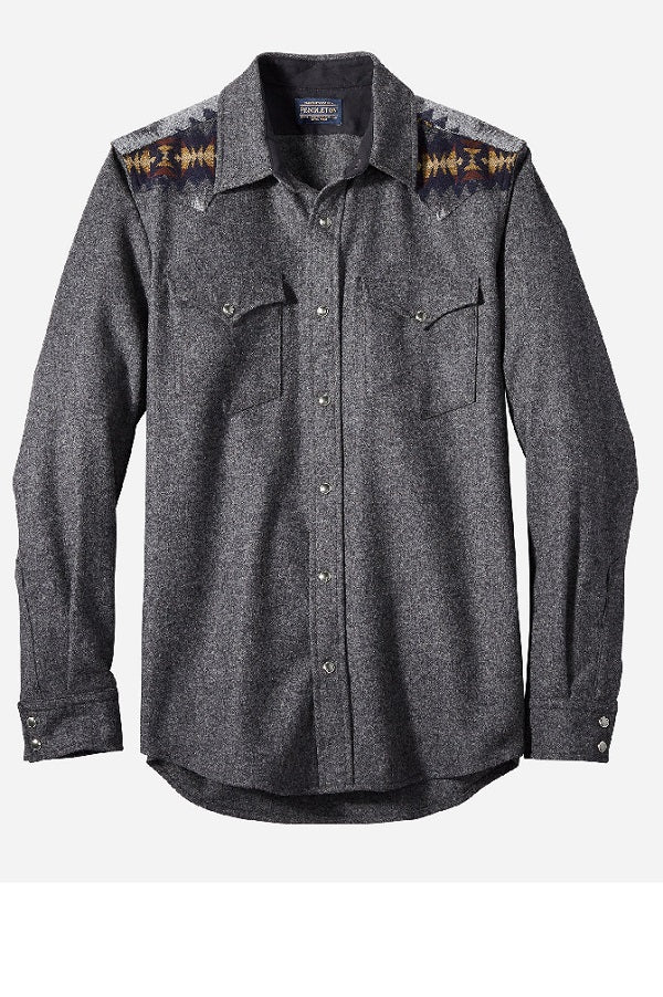 Men's Pendleton shirt fitted - Canyon