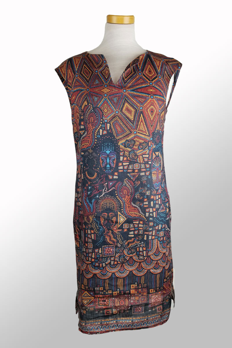 Printed Linen Dress from Ivko