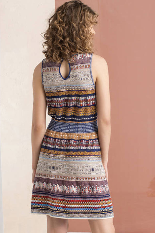 Knit Dress from Ivko - Natural Clothing Company