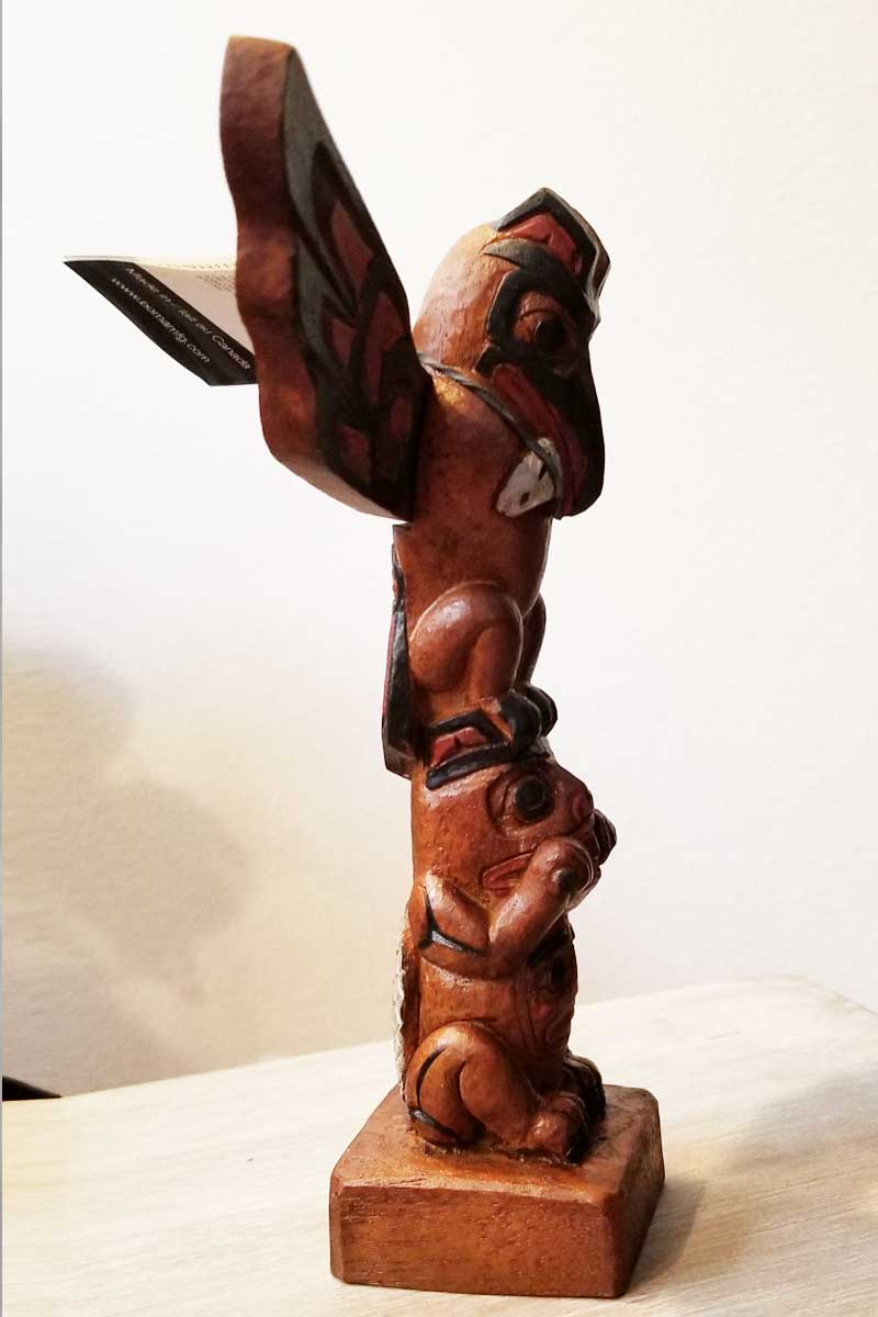 Totem Pole Sculpture - First Nations Art