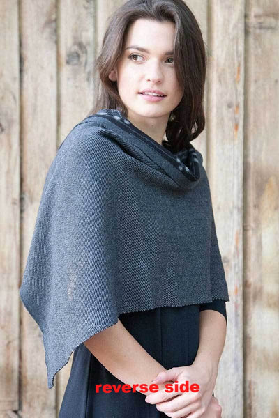 Organic Cotton and Cashmere Shawl and Cape - Natural Clothing Company