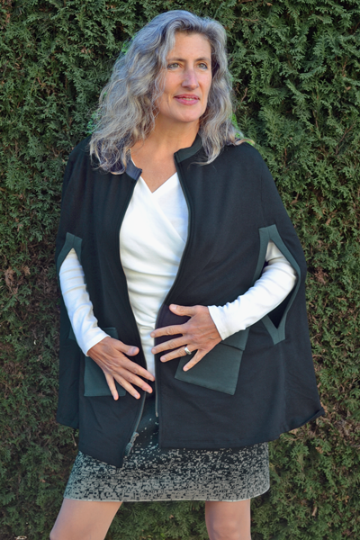 Women's Two Tone Cape