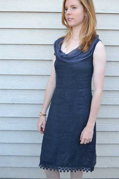 Classic Linen Dress - Natural Clothing Company