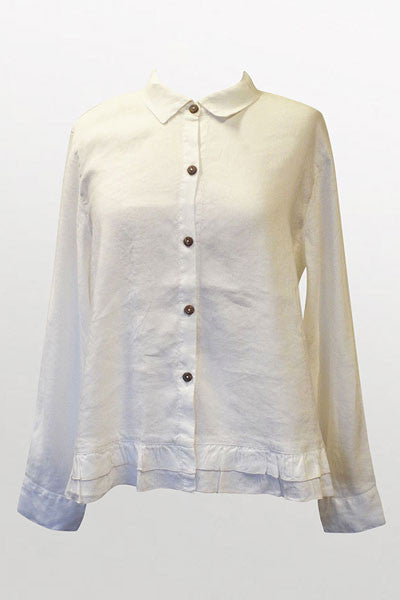 Women's Ruffle Jacket - Natural Clothing Company