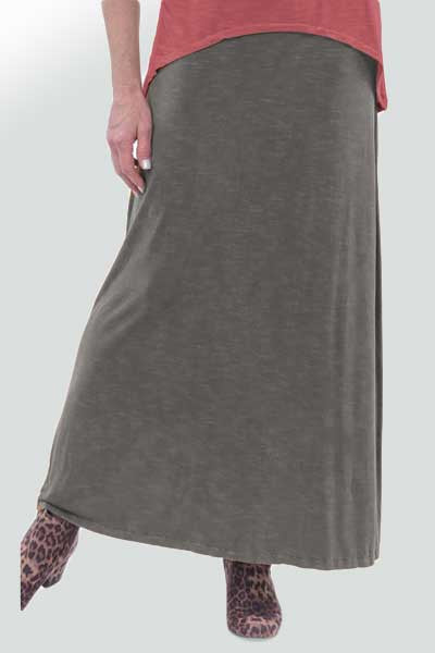 Long Hemp Skirt