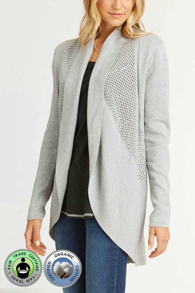 Organic Circle Cardigan - Natural Clothing Company