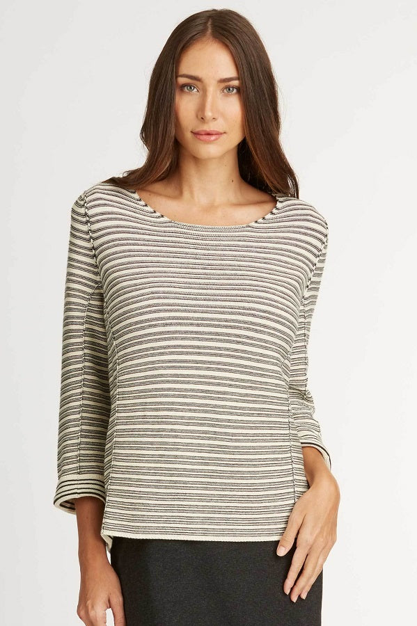 Organic Textured Pullover - Natural Clothing Company