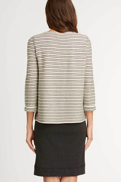 Organic Textured Pullover