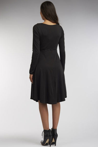 Organic Cotton Long Sleeve Dress - Natural Clothing Company