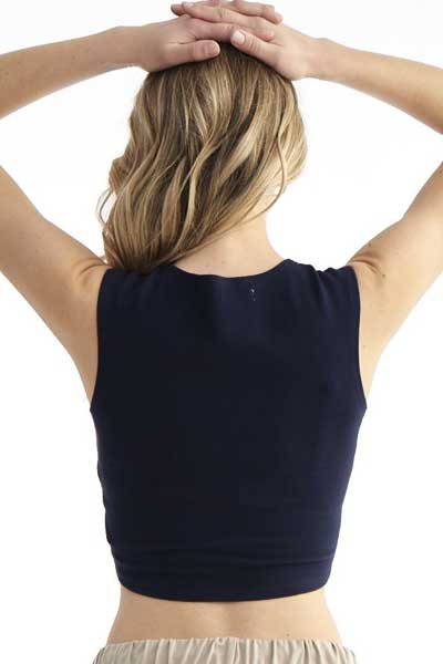 Organic Cotton Crop Top - Embarcadero - Natural Clothing Company