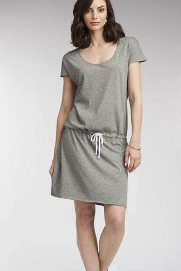 Organic Cotton Short Dress - Natural Clothing Company
