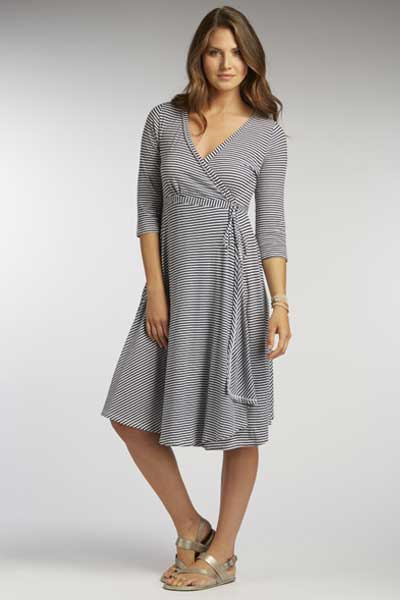 Organic Half Sleeve Dress - Natural Clothing Company