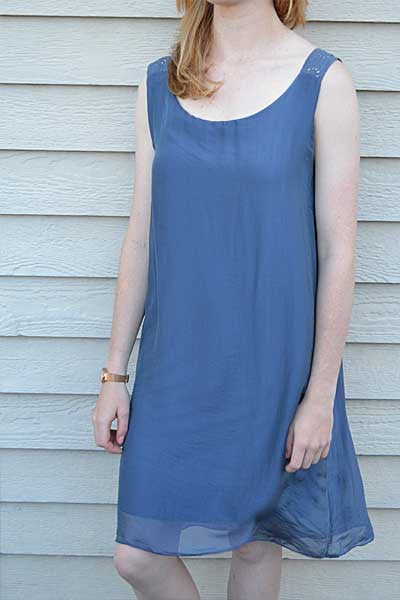 Italian Silk Dress - Natural Clothing Company